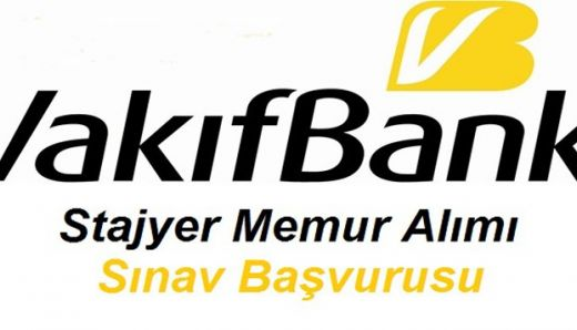 Vakıfbank Personel Alımı Başvuru Formu 25 Şubat -8 Mart 2013