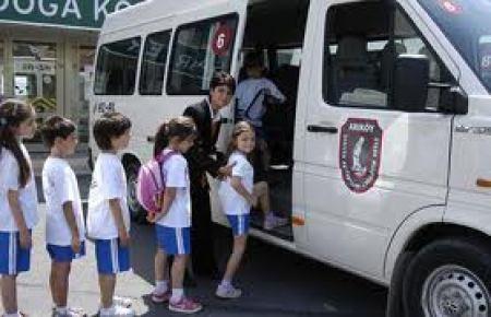 Velilere okul taşıtı sözleşmesi uyarısı