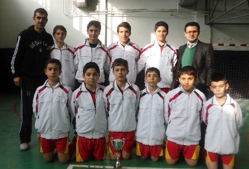 Yavuz Selim Top Koleji öğrencileri, Futsal Turnuvası'nda