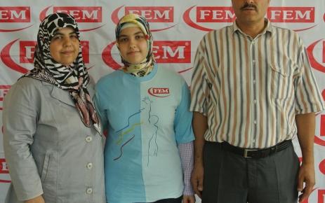 YGS Türkiye birincisi Sümeyye Nur Satin, LYS'de başarısını perçinledi