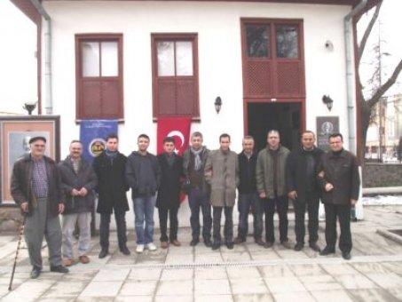 Yozgat Pergel Derneği yönetimi arabaşı yemeğinde bir araya geldi