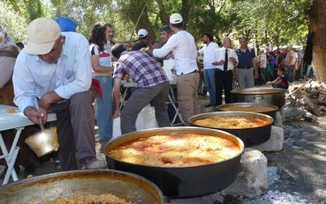 Yozgatlılar, Kayseri'de düzenlenen 4. Pilav Şenliği'ne katıldı