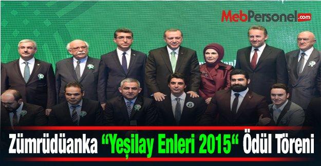 Zümrüdüanka Yeşilay Enleri 2015 Ödül Töreni