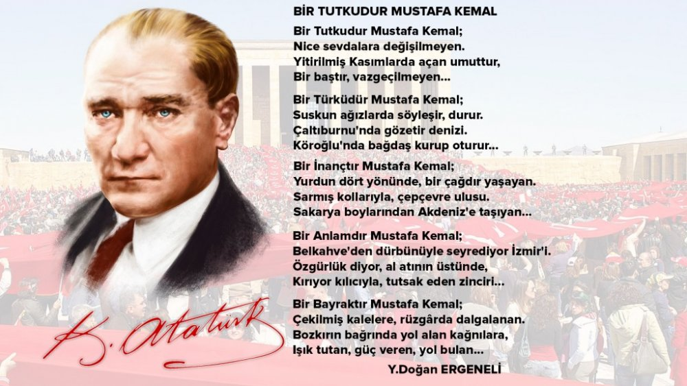 10 Kasım şiirleri Kısa Ve Yeni Atatürkü Anma şiirleri